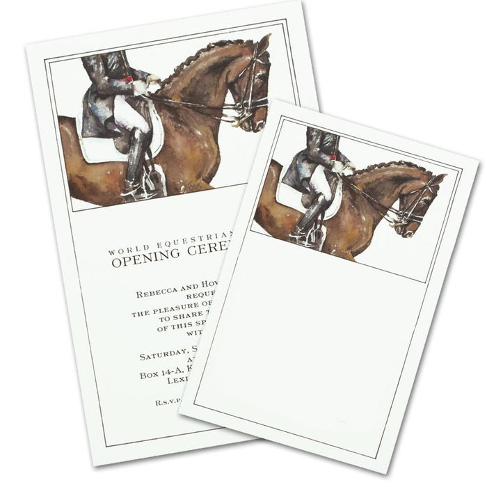 Dressage Party Invitations