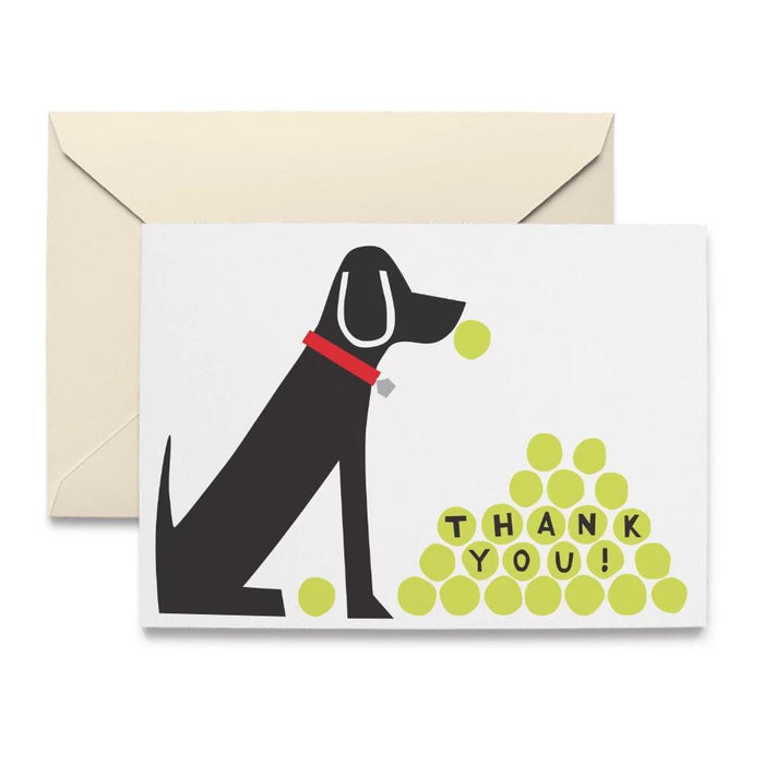 Thank You Doggie Note Cards by R. Nichols