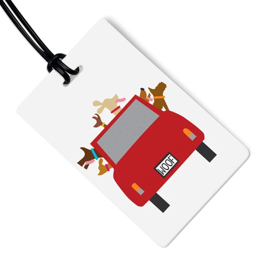 Dog Luggage Tag - Woofmobile