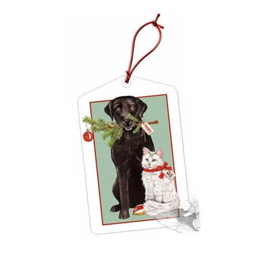 Black Lab & Kitty Gift Tags