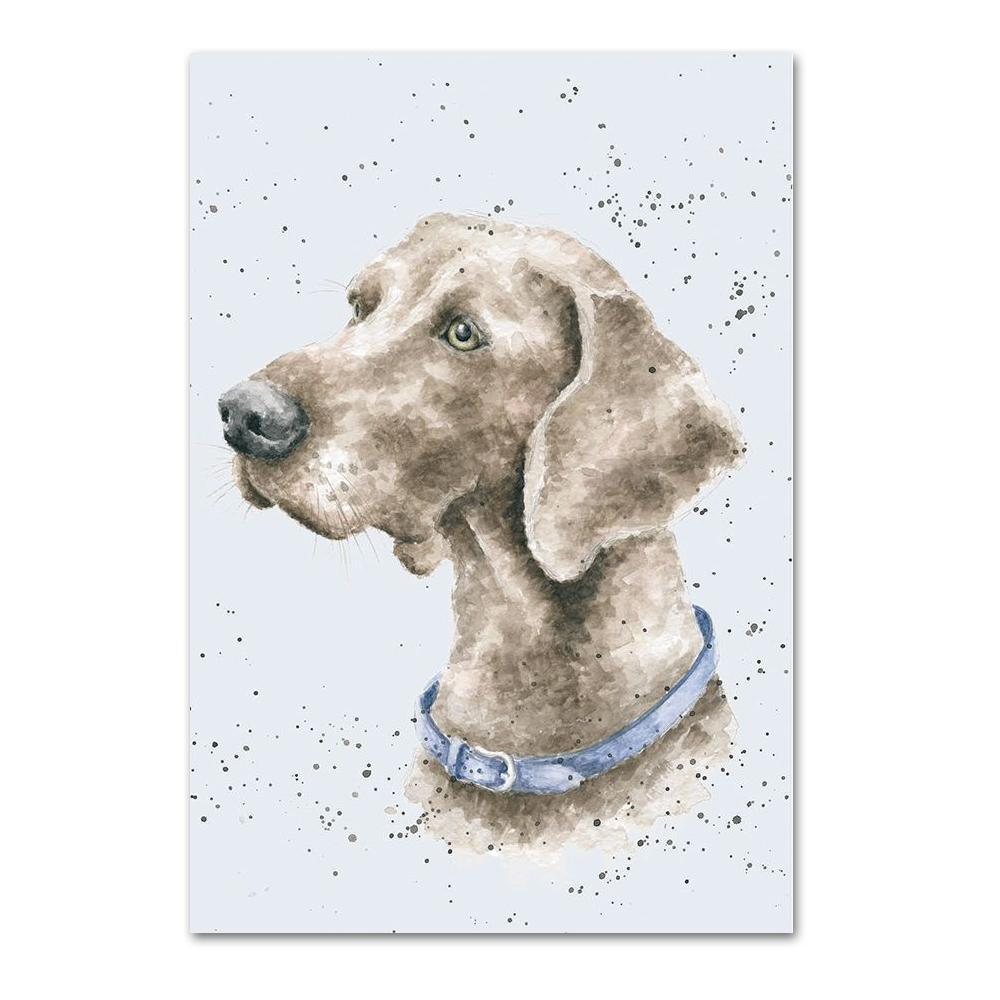 Weimaraner Note Card by Wrendale