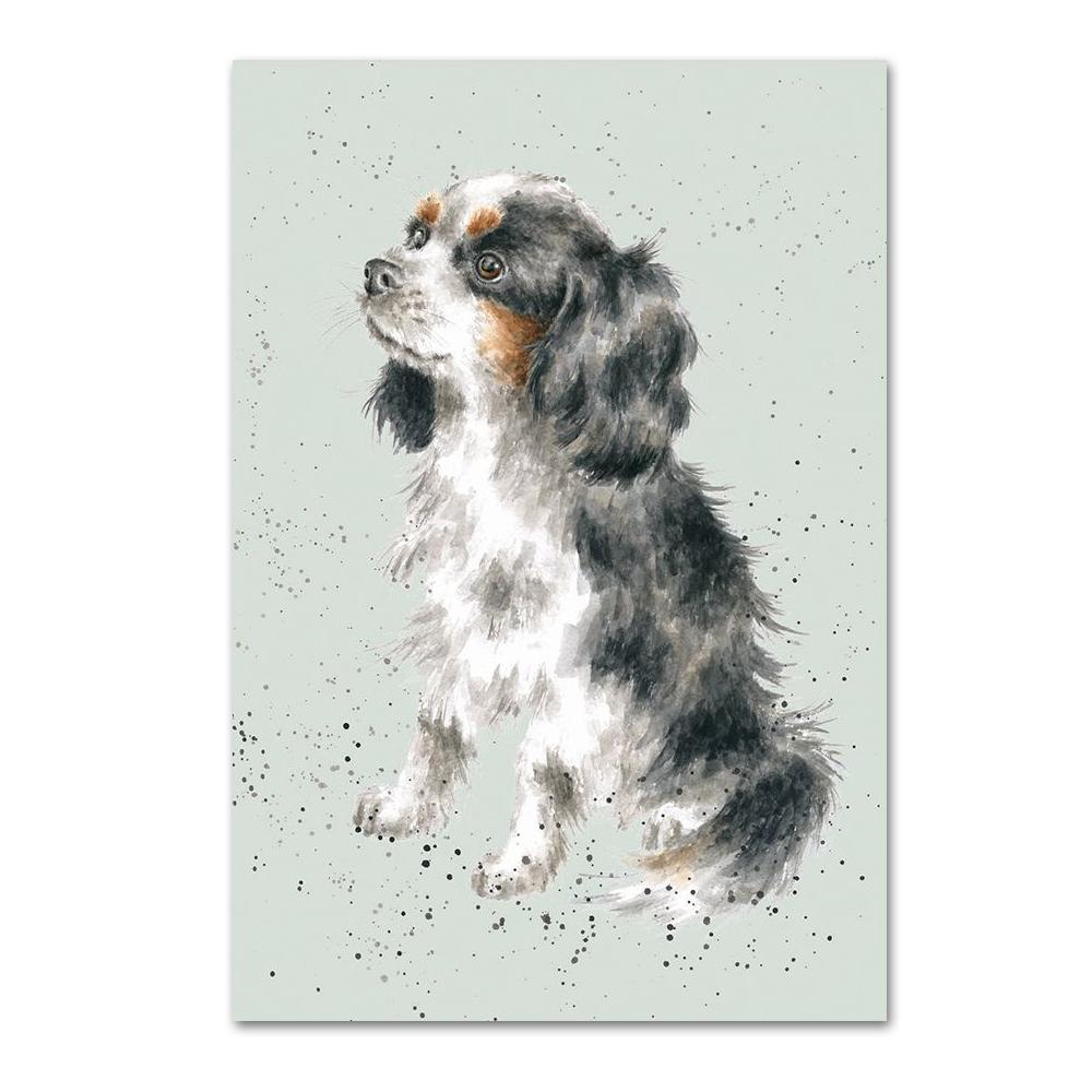 Cavalier King Charles Spaniel Note Card by Wrendale