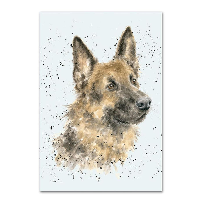 German Shepherd Note Card by Wrendale