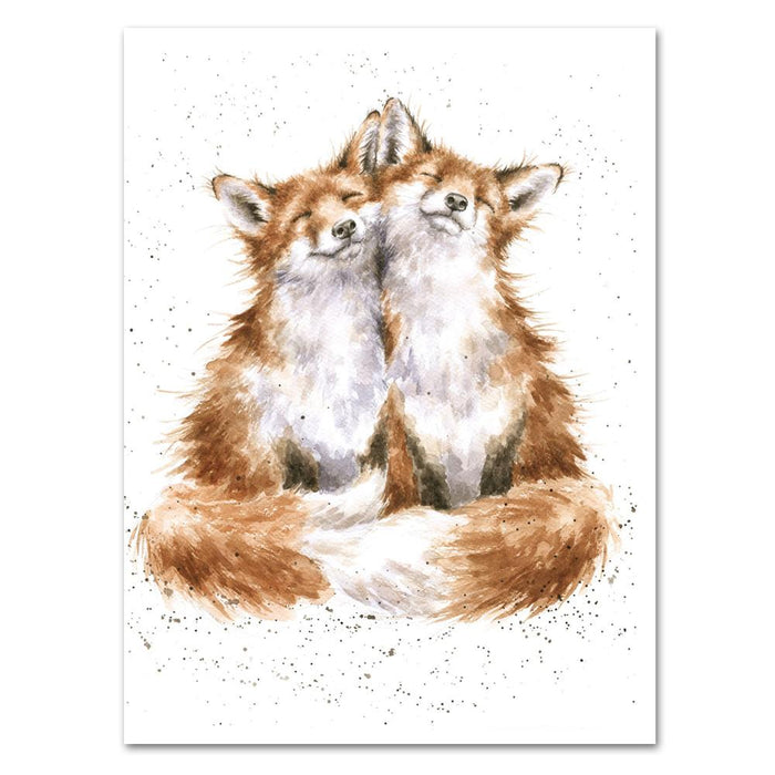 Contentment Fox Note Card by Wrendale