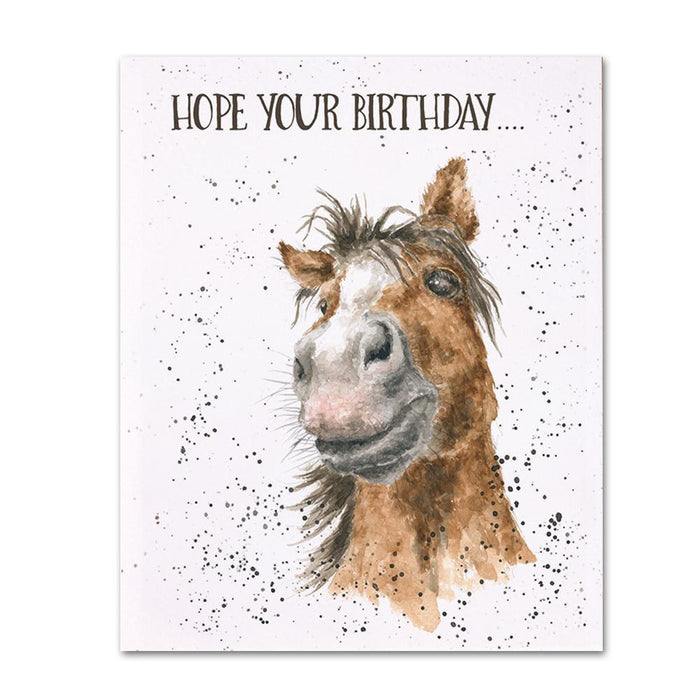 Horse-ome Birthday Card by Wrendale