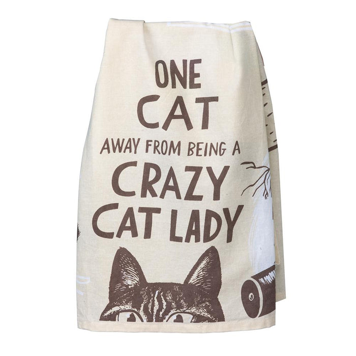 Crazy Cat Lady - Funny Kitchen Towel