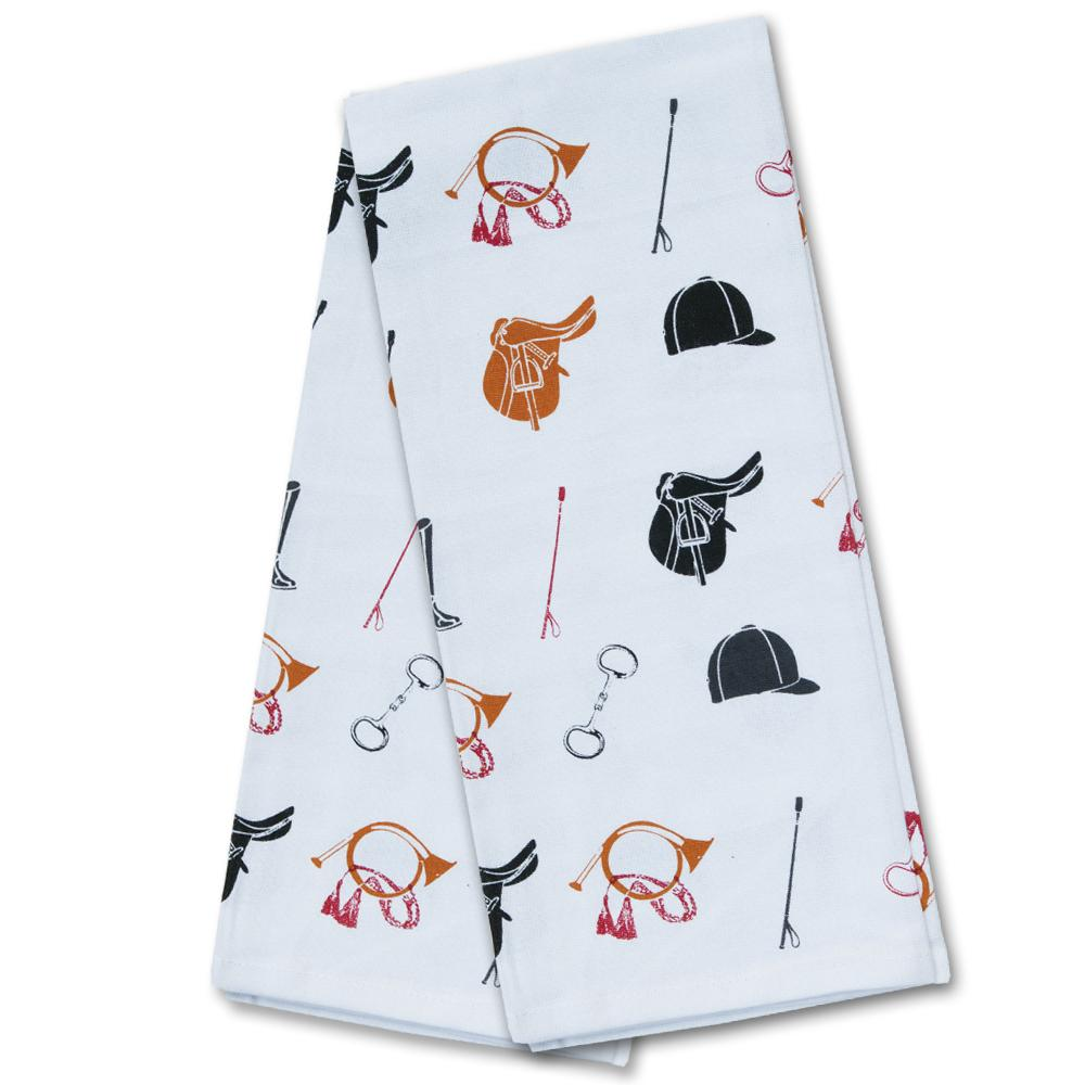 Equestrian Icons Kitchen Towel