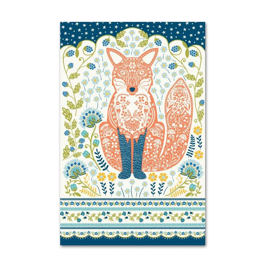 Woodland Fox Kitchen Towel