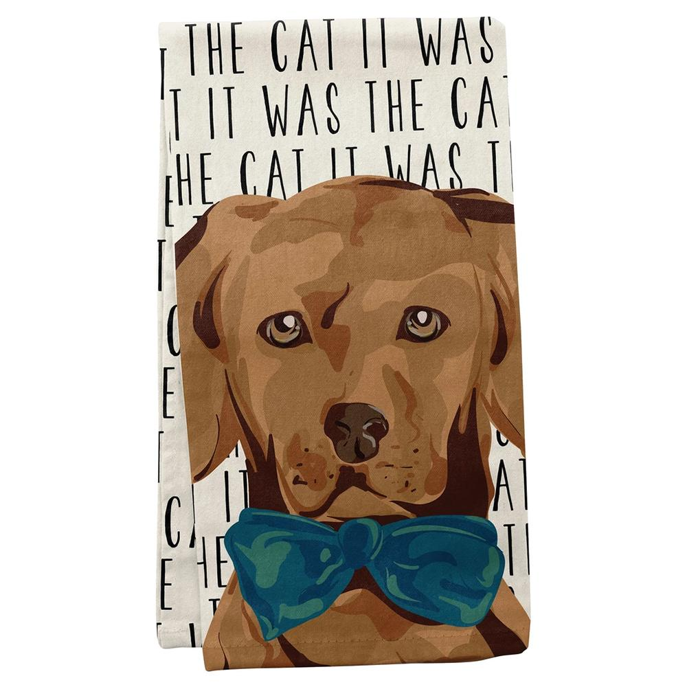 Blame the Cat - Dog Kitchen Towel