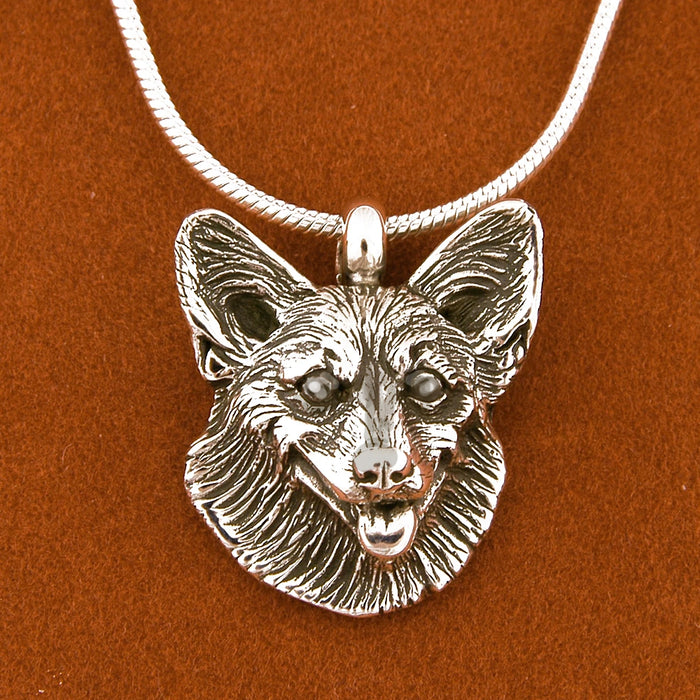 Corgi Sterling Silver Necklace