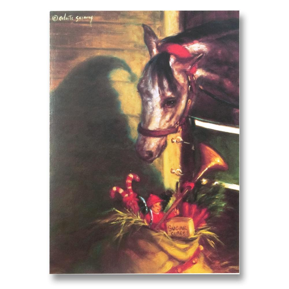 What's This? Equestrian Christmas Cards by Susany