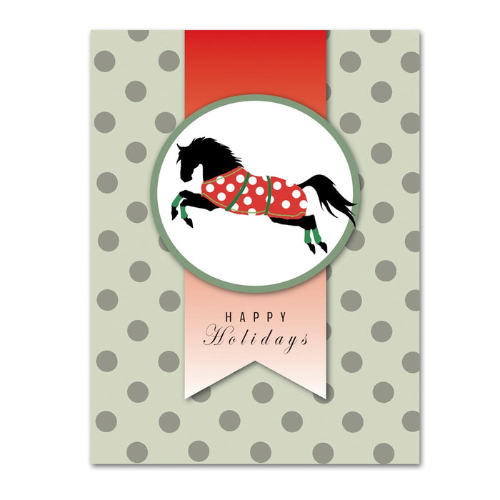 Happy Holidays Horse Cards