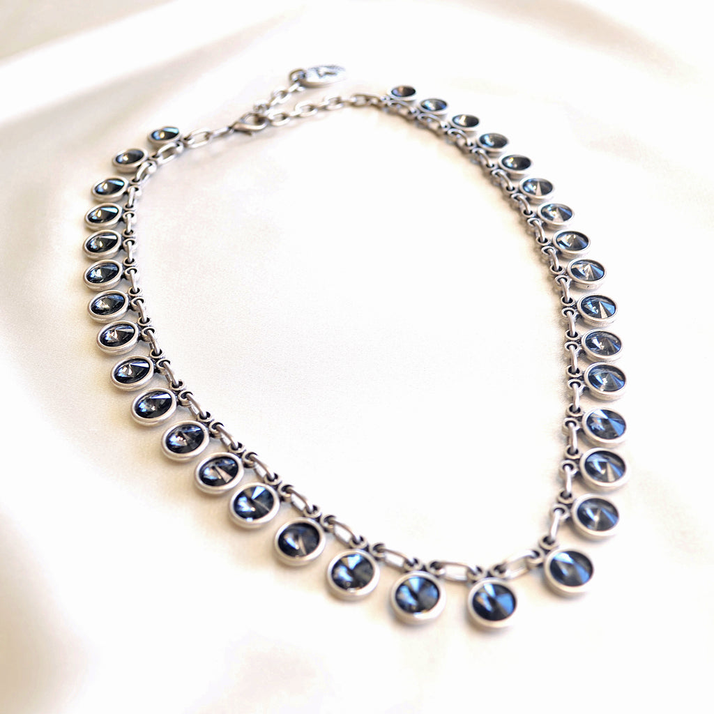 Aqua Necklace - Charcoal Grey