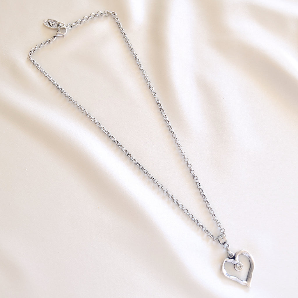 Lori Necklace - Clear Crystal
