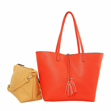 Brand  Imoshion Reversibile Bag-In-A-Bag Tote Bag Designer Women Hand Bag 2 in 1 - Onetimedealbargain