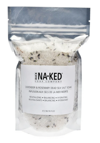 Lavender + Rosemary Dead Sea Salt Bath Salts