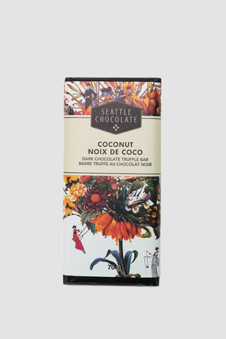 Coconut Dark Chocolate Truffle Bar