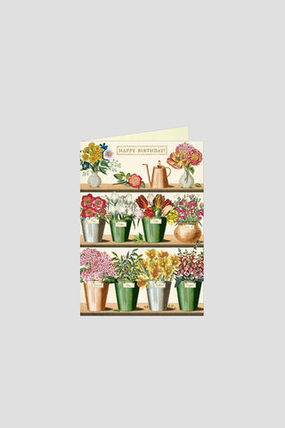 HBD House Plant Greeting Card