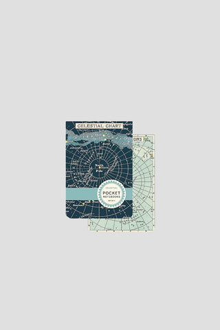 Celestial Chart Pocket-Sized Notebooks