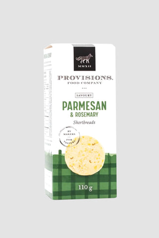 Parmesan & Rosemary Shortbreads