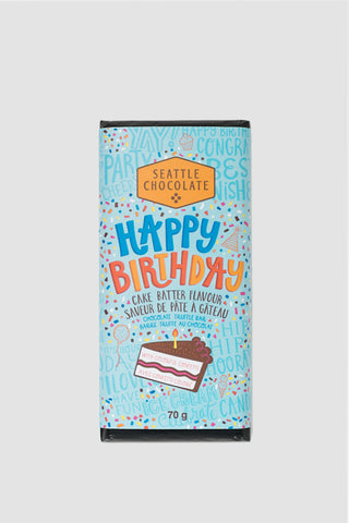 HBD White Chocolate Truffle Bar