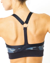 Load image into Gallery viewer, Veloso Supplex Sports Bra with Mesh Trim