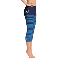Load image into Gallery viewer, All Day Comfort Pacific Supply Stripe Capri Leggings