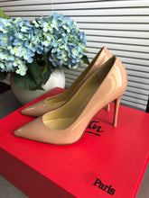Load image into Gallery viewer, Christian Louboutin Apostrophy Pointed Red-Sole Pump
