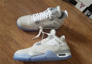 Men's Air Jordan 4 Light Bone/White-Pure Platinum-Wolf Grey Outlet