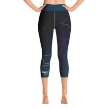 Load image into Gallery viewer, Active Comfort Sport A L O H A  Capri Leggings