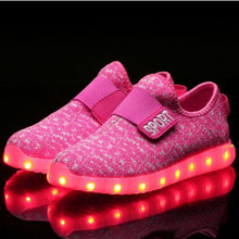 Load image into Gallery viewer, Sneakers Kids Led Luminous Shoes