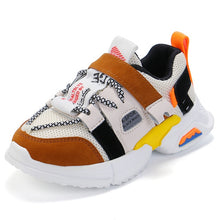 Load image into Gallery viewer, Children Sneaker Casual Sports Shoes Boys Kids Girls Student Running Shoes Anti-Slip Fashion Autumn Damping SSJ022