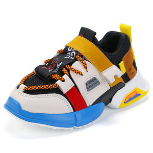 Children Sneaker Casual Sports Shoes Boys Kids Girls Student Running Shoes Anti-Slip Fashion Autumn Damping SSJ022