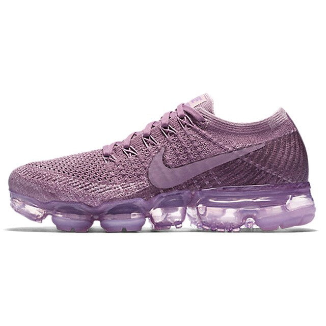 Authentic Nike Air VaporMax Flyknit Sneakers Women Fashion Light Running Shoes Low-top Lace-Up Shockproof Durable 849557-202