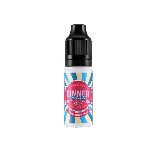 20mg Dinner Lady 10ml Flavoured Nic Salt-Vaping Products-Dinner Lady-Watermelon Slices-Stop n Vape