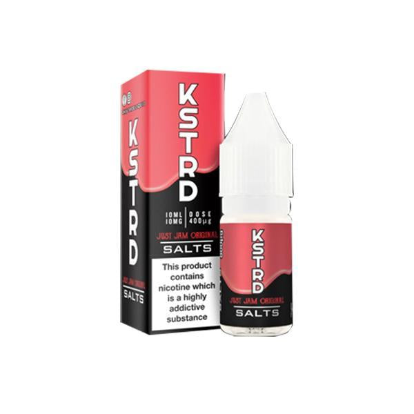 20mg KSTRD Nic Salts By Just Jam 10ml (50VG/50PG)-Vaping Products-Just Jam-Strawberry Original-Stop n Vape