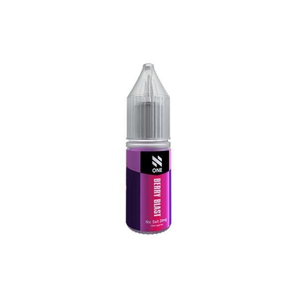 20mg N One 10ml Nic Salts (50VG/50PG)-Vaping Products-N One-Black Ice-Stop n Vape