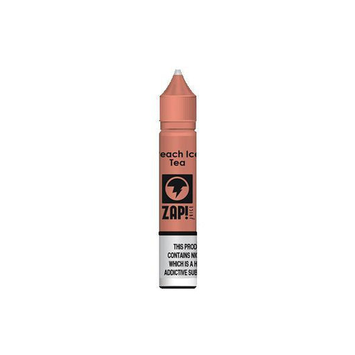 20MG ZAP Juice 10ML Flavoured Nic Salts-Vaping Products-ZAP Juice-Peach Ice Tea-Stop n Vape