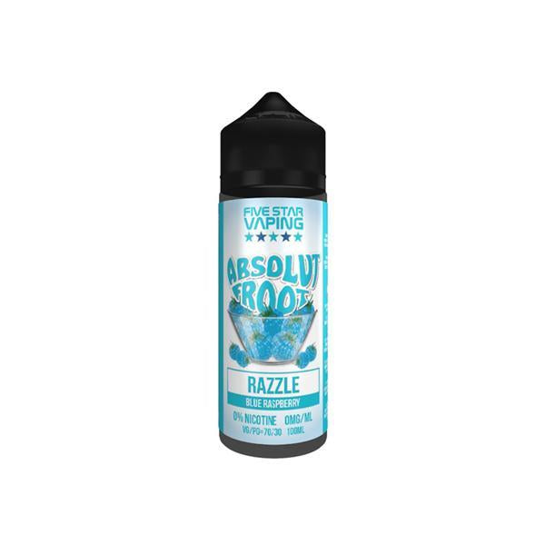 Absolut Froot by V-Juice 0mg 100ml Shortfill (70VG/30PG)-Vaping Products-Absolut Froot-Stop n Vape