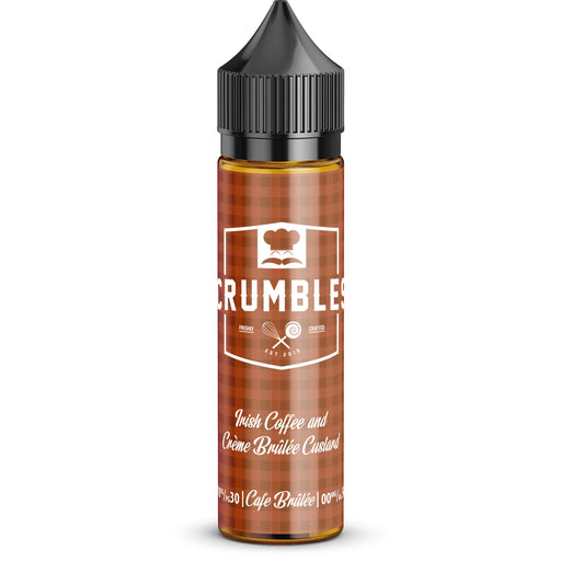 Cafe Brulee Short Fill-Short Fill-Crumbles E-liquids-50ml Short Fill-0mg Short Fill-Stop n Vape