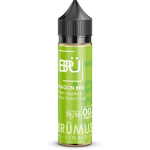 Dragon Bru Short Fill-Short Fill-Brumus E-liquids-50ml Short Fill-0mg Short Fill-Stop n Vape