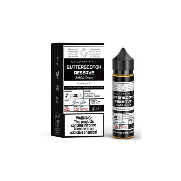 Glas Basix Series 0mg 50ml Shortfill (73VG/27PG)-Vaping Products-Glas Basix-Butterscotch Reserve-Stop n Vape