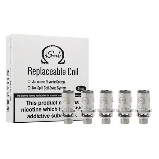 Innokin iSub Coil - 0.2/0.5/1.0/1.2/2.0 Ohm-Vaping Products-Innokin-0.2 Ohm-Stop n Vape