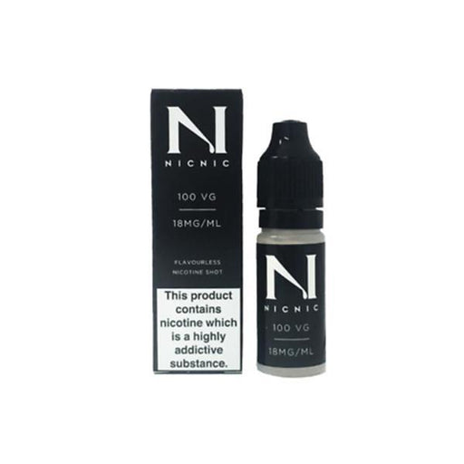 NIC NIC 18mg Nicotine Shot (100VG) 10ml-Vaping Products-Nic Nic-Stop n Vape