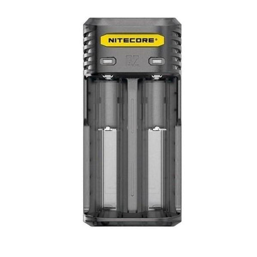 Nitecore Q2 Charger- Clear/Black-Vaping Products-Nitecore-black-Stop n Vape