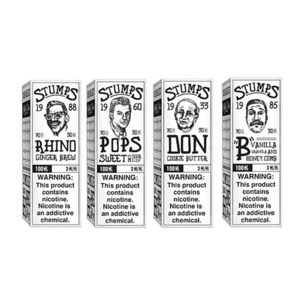 Stumps by Charlie's Chalk Dust 0MG 100ML (70VG/30PG)-Vaping Products-Charlie's Chalk Dust-B - Vanilla Granola and Honey Comb-Stop n Vape