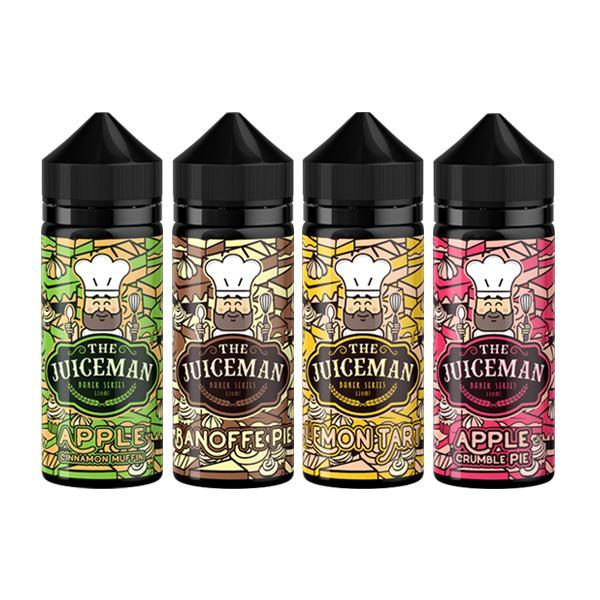 The Juiceman Baker Range 0mg Shortfill 100ml (50VG/50PG)-Vaping Products-The Juiceman-Stop n Vape
