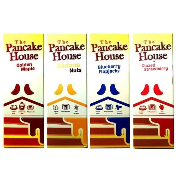 The Pancake House 0mg 100ml Shortfill (70VG/30PG)-Vaping Products-The Pancake House-Blueberry flapjacks-Stop n Vape