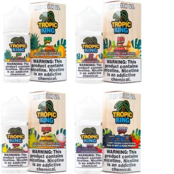 Tropic King 0mg 120ml Shortfill (70VG/30PG)-Vaping Products-Drip More-Berry Breeze-Stop n Vape