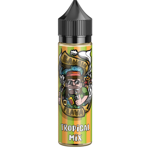 Tropical Mix Short Fill-Short Fill-Bangin Flava-0mg Short Fill-50ml Short Fill-Stop n Vape